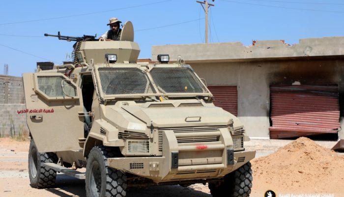الجيش يواصل صد هجمات الوفاق بأكثر من محور