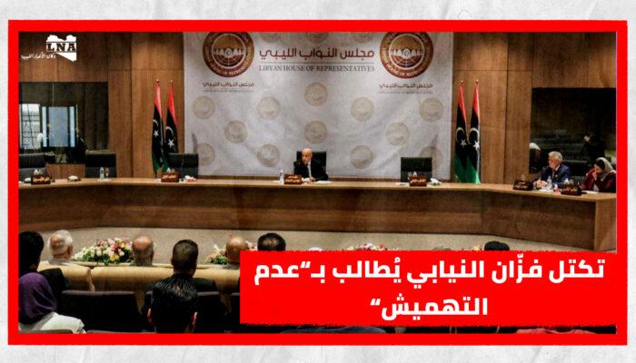 """تكتل فزّان النيابي يُطالب بـ""""عدم التهميش"""""""