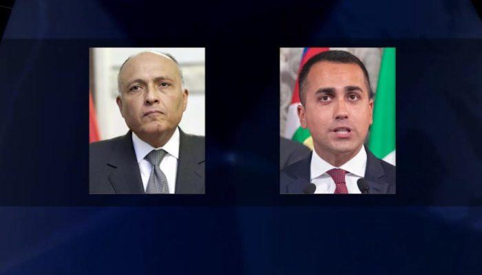 مصر وإيطاليا يرفضان التدخلات الخارجية في ليبيا